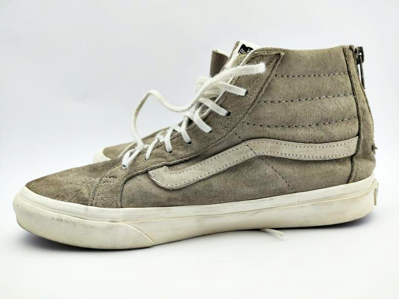 Vans Old skool High Top Cream. Size, US# 7, UK,6 Pak #39