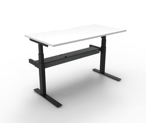 Rapidline Paramount Singled Side Electric Sit To Stand Desk Without Screen