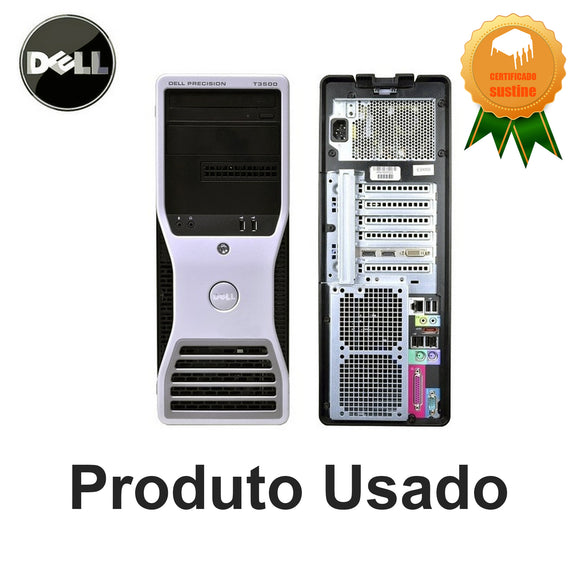 Workstation Dell T3500 Xeon 16gb Ssd120gb Hd500gb Quadro