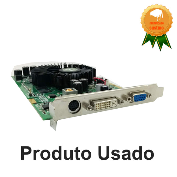 Placa de video Zogis  8600 GT  512mb ddr2 128bits pci-x16