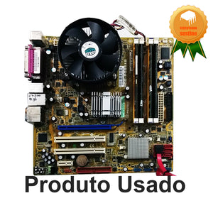 Placa Mãe Positivo Pos-pq35as + Core 2 Duo E7500 + 4gb Ddr2