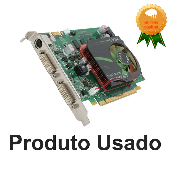 Placa de video Evga e-Geforce 9500GT 512mb ddr2  Pci-e