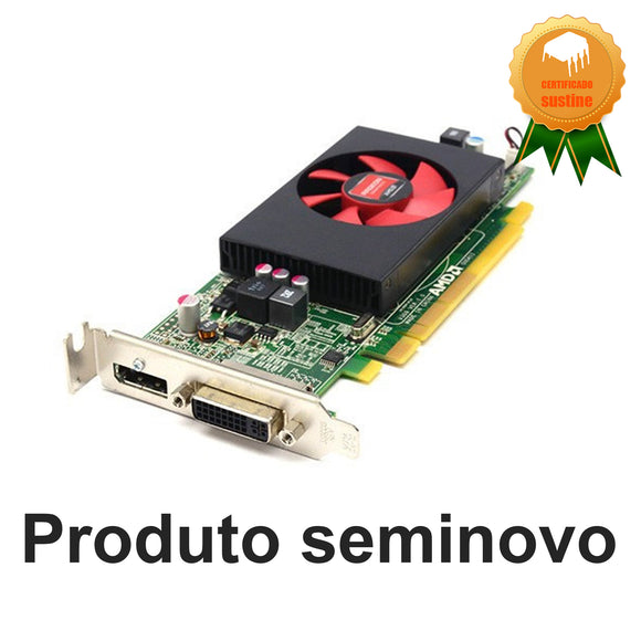 Placa de video AMD Radeon R5 240gb 1gb gddr3 perfil baixo