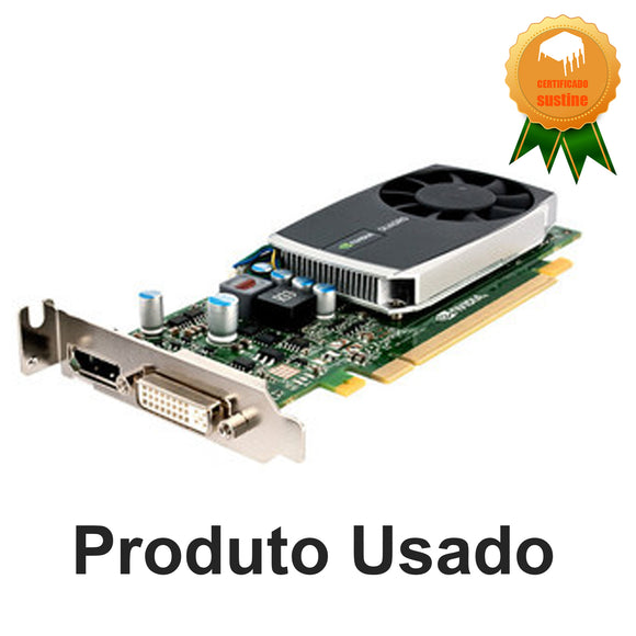 Placa de video nvidia Quadro 600 1gb ddr3