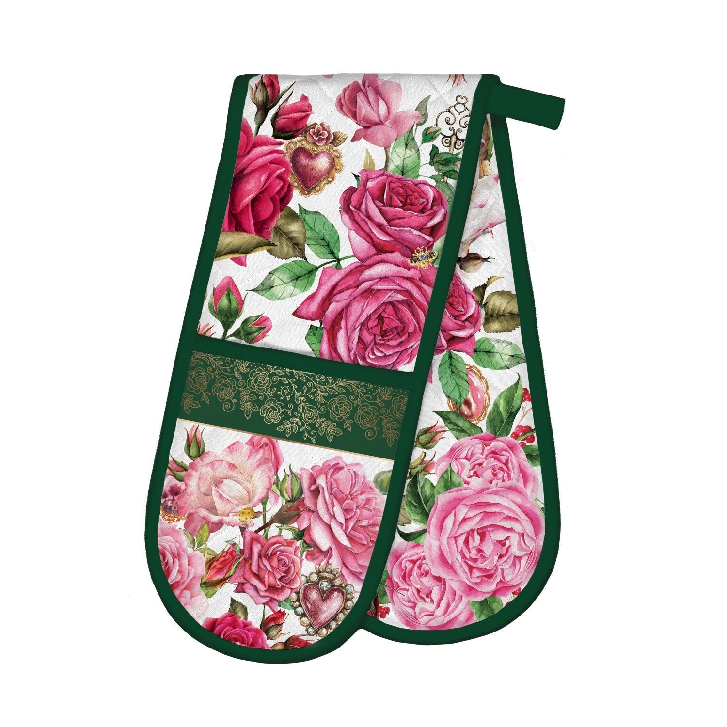 Royal Rose Double Oven Glove