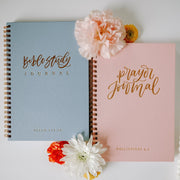Prayer + Bible Study Journal Bundle