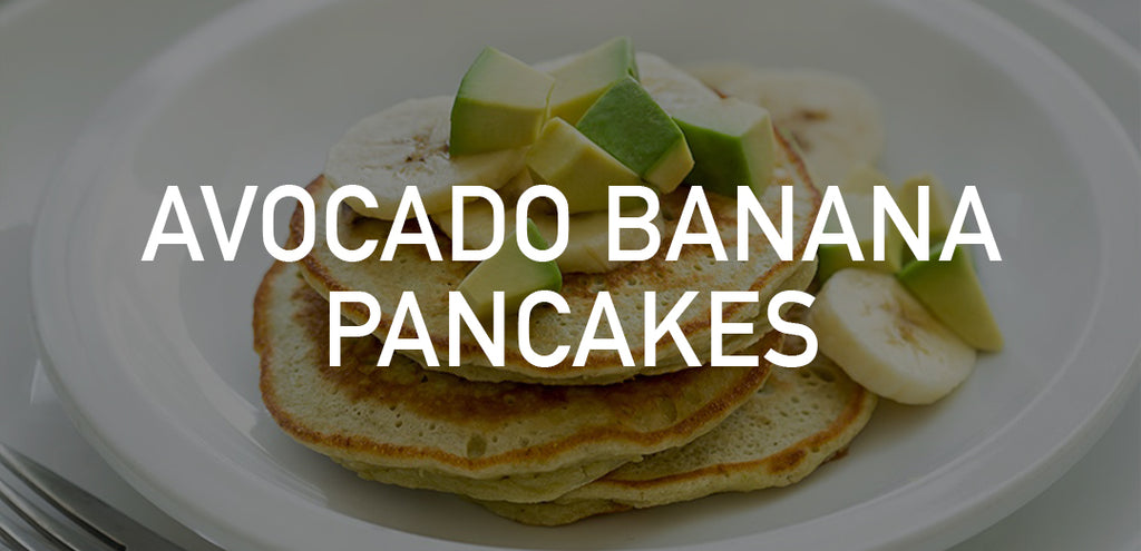 Avocado Banana Pancakes | Heart Healthy Recipes