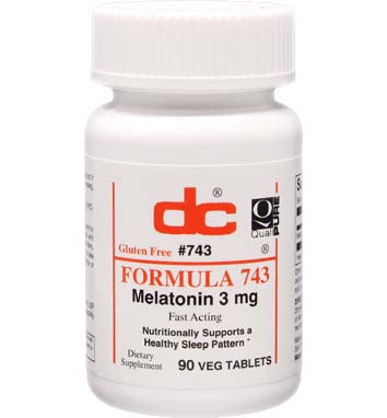 Formula 743 - Melatonin 3mg | 90 Tablets - Bevko Vitamins