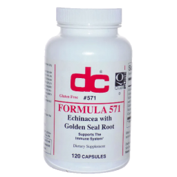 Formula 571 - Echinacea with Golden Seal Root | 120 Capsules - Bevko Vitamins