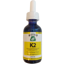 Vitamin K2 Liquid | 2 oz - Bevko Vitamins