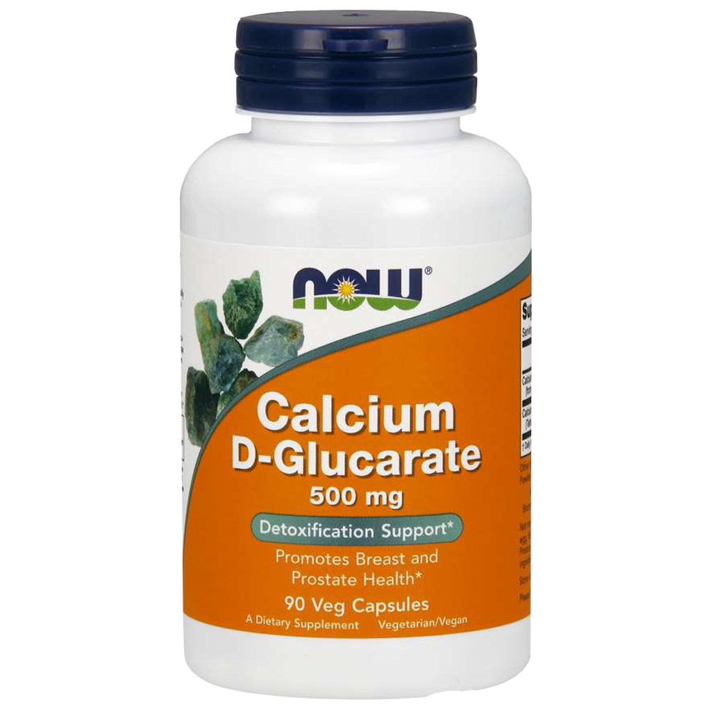 Calcium D-Glucarate 500mg | 90 Capsules - Bevko Vitamins