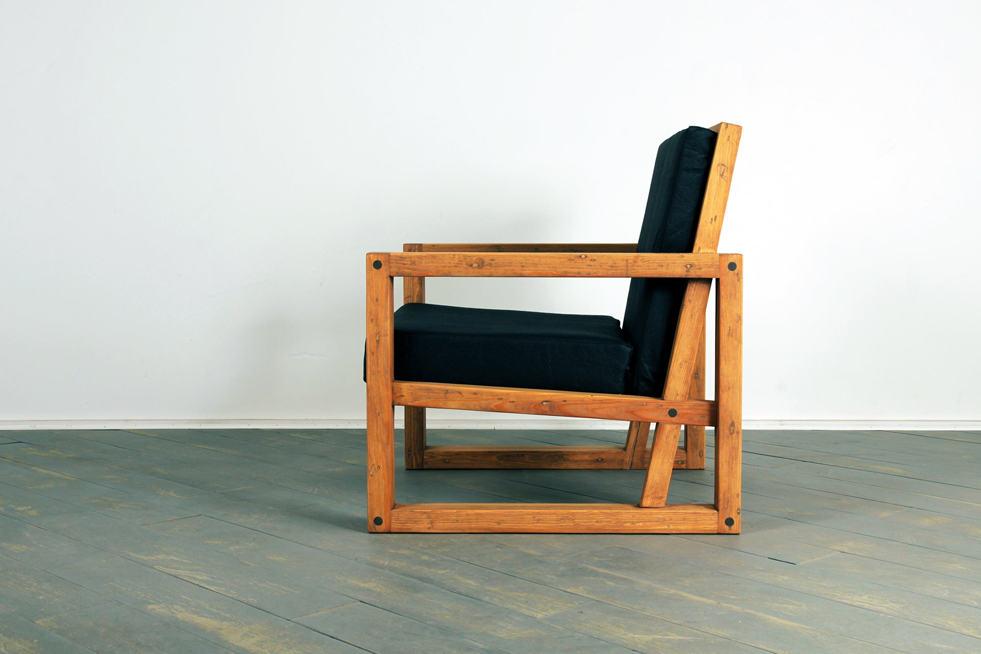 The Breathe Easy Chair in Pecan Pie and Charcoal