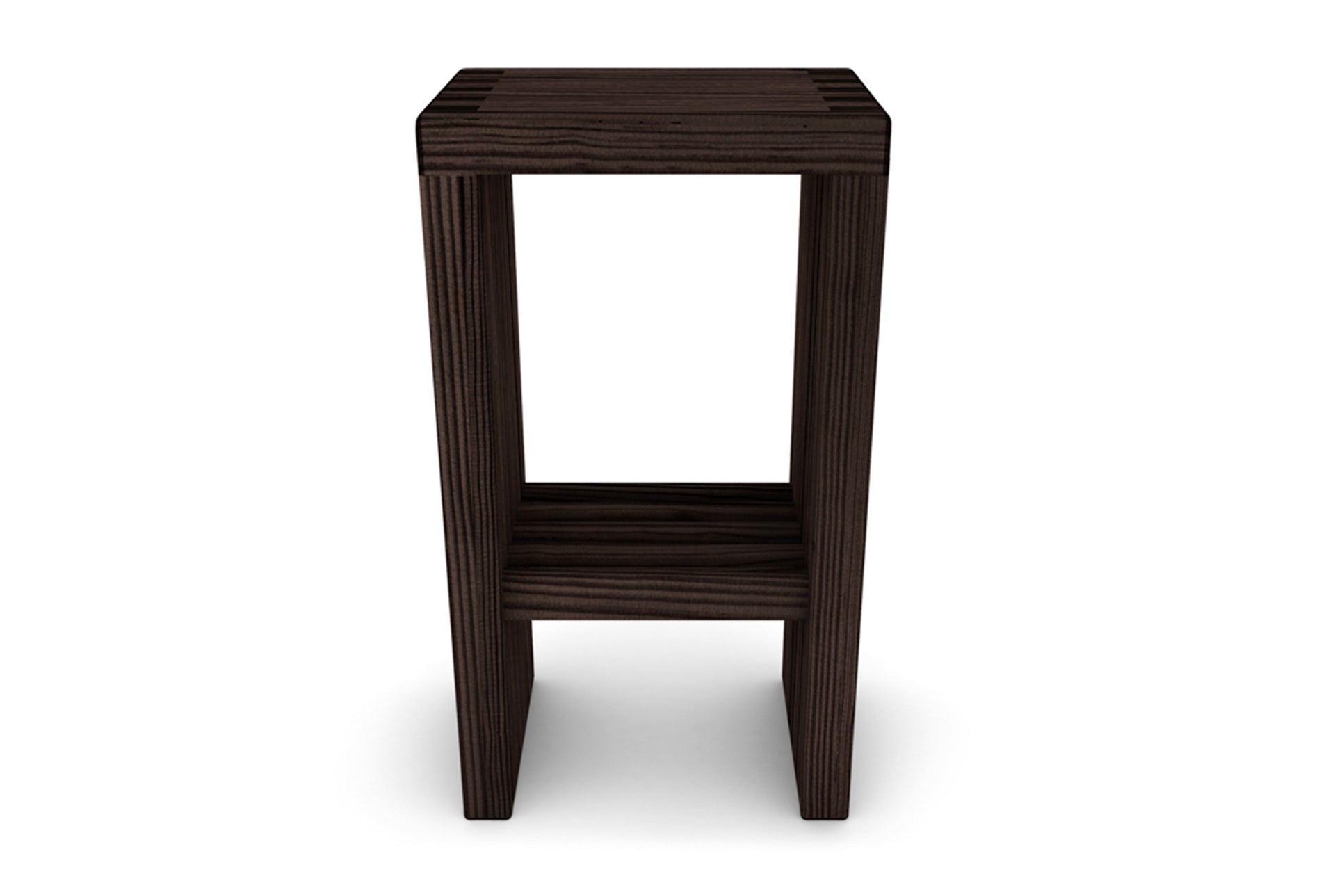 The Lilly High Stool With Cityscape Legs