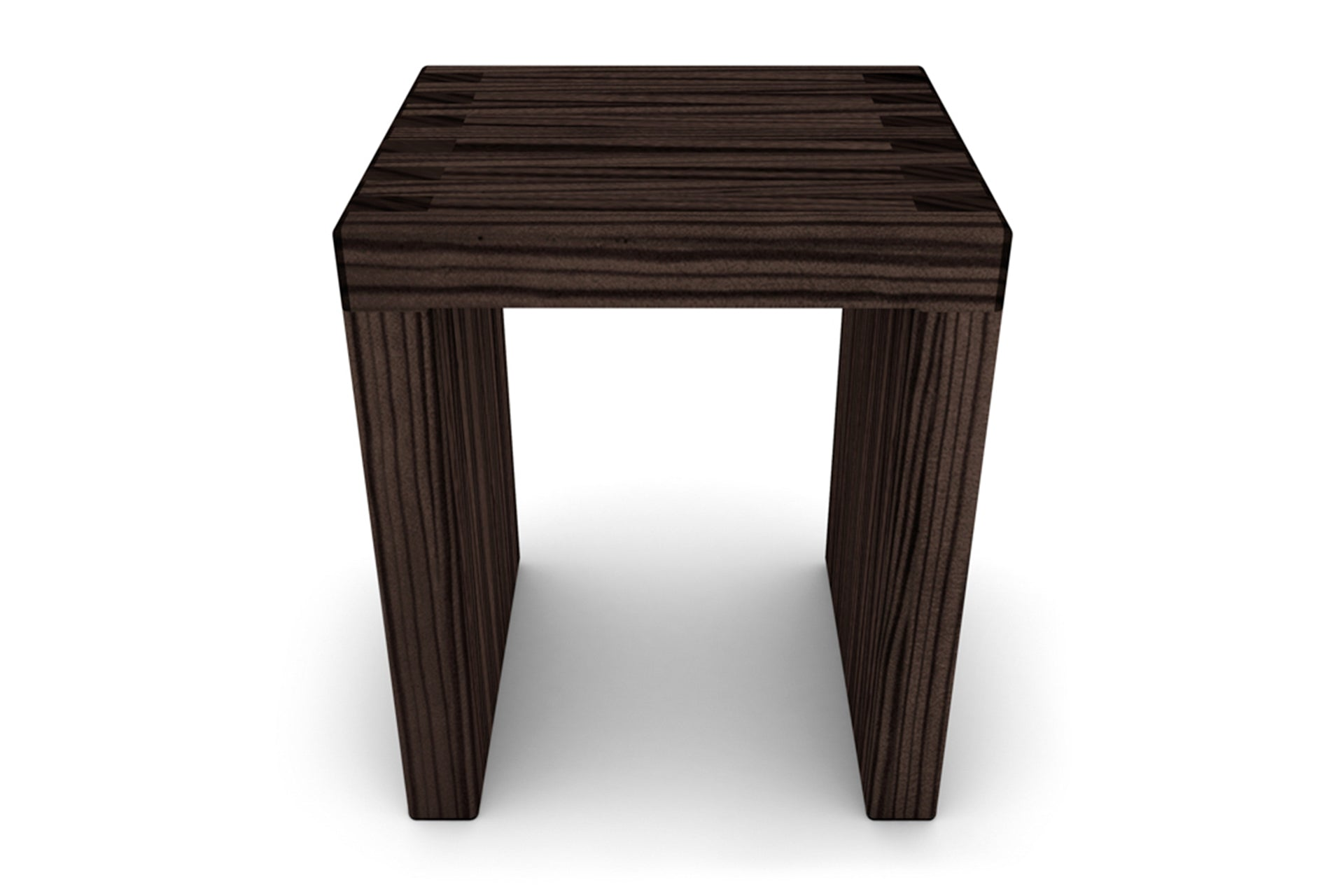 The Lilly Stool With Cityscape Legs