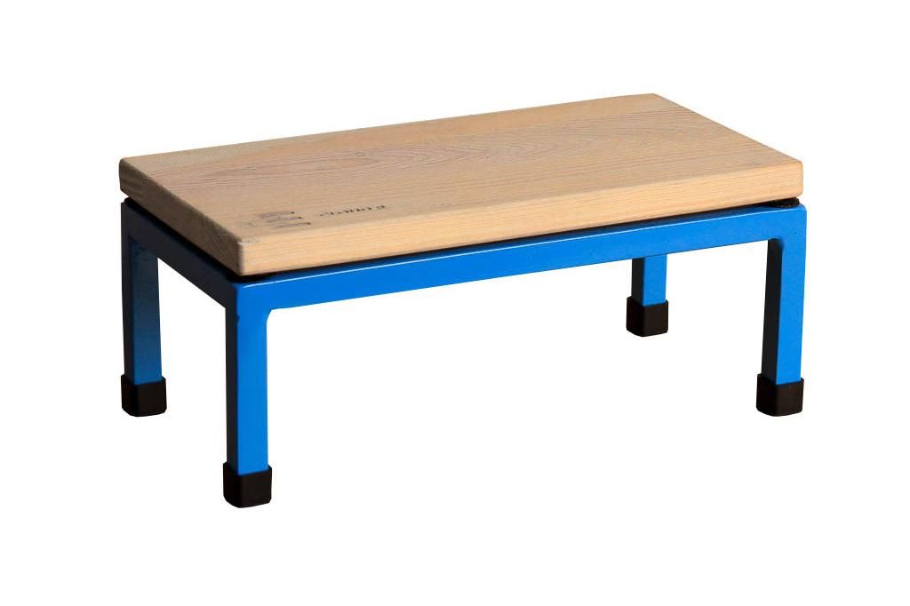The Mini Table in Cloud 9 and 5012 Light Blue