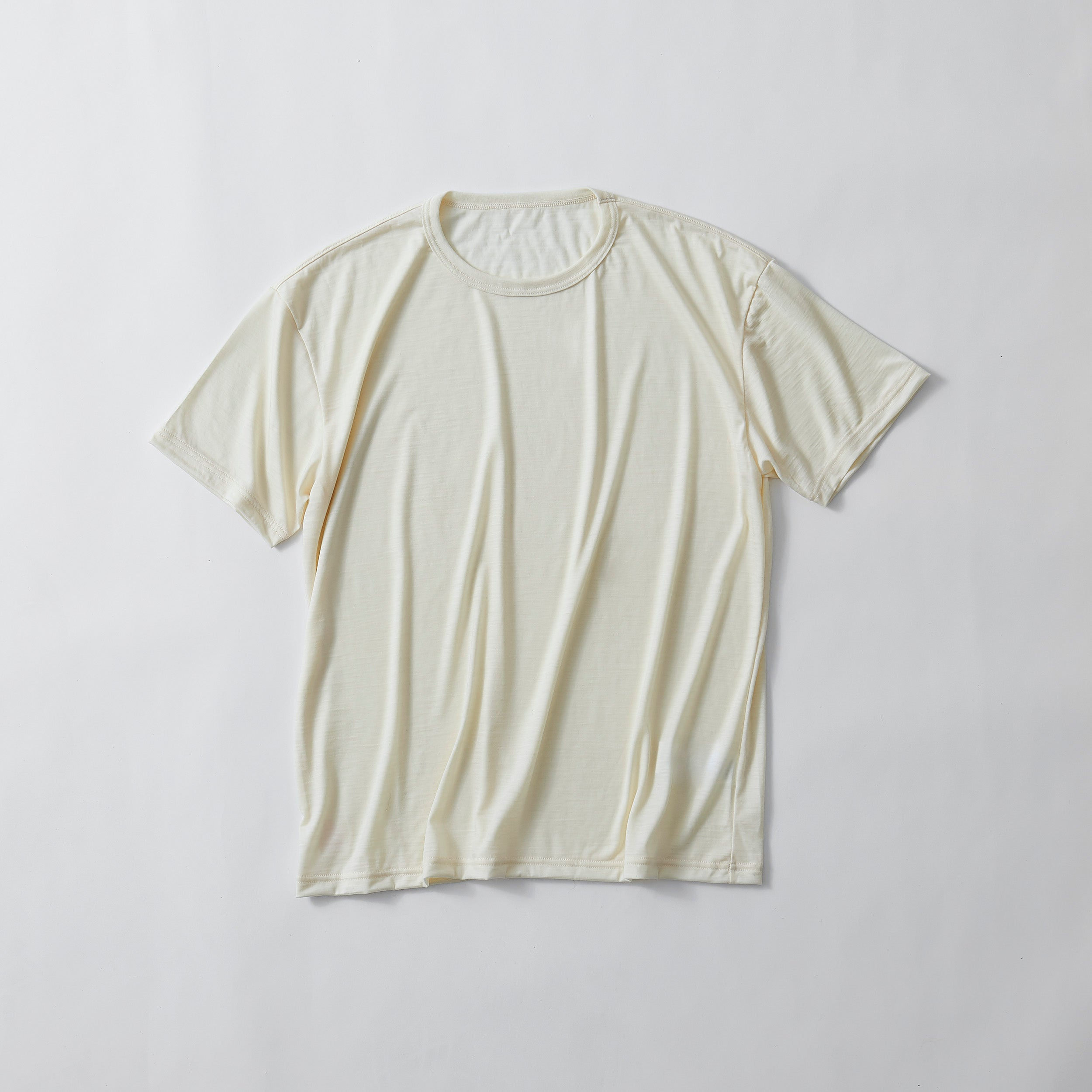 SMOOTH WOOL T-SHIRT