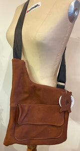 Satchel with Front Pocket
