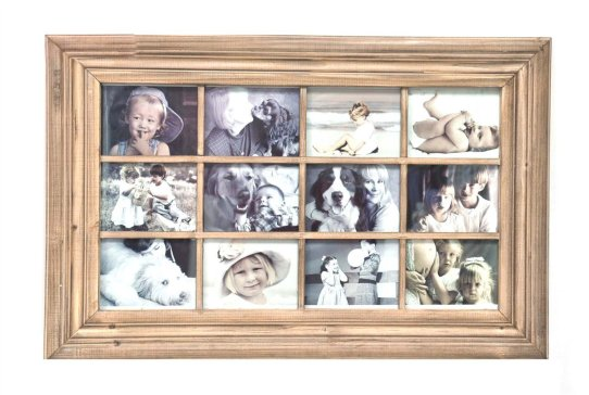 12 Picture Wall Collage Frame
