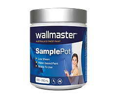 JUST BARELY WM17CC 043-1-Wallmaster Paint Sample Pot