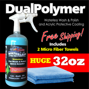 DualPolymer Single 32oz with MicroFiber Towels