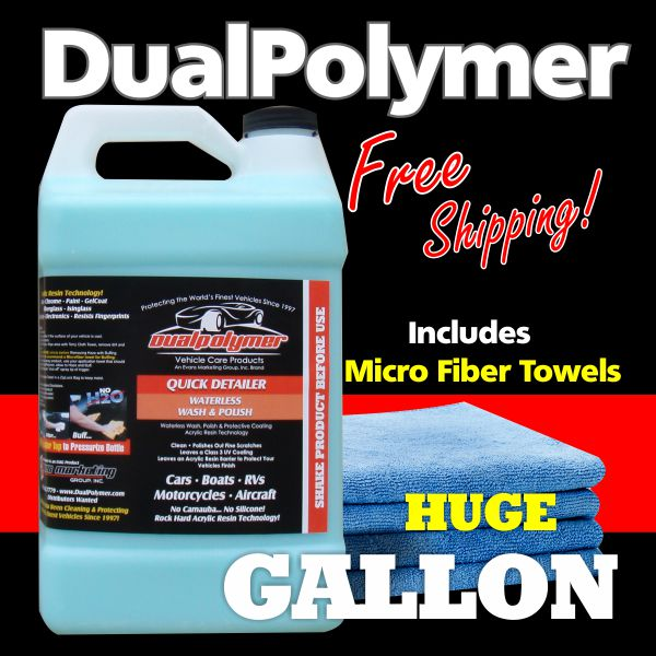 ONE GALLON DualPolymer  with MicroFiber Towels