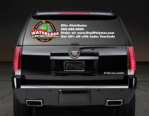 DualPolymer Full Color Back Glass Decal