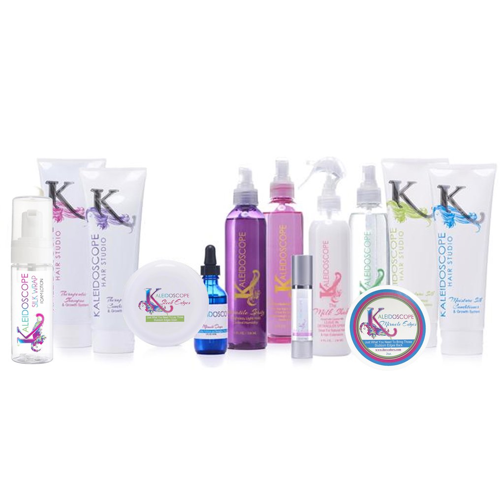 Ultimate List of All Kaleidoscope Hair Products