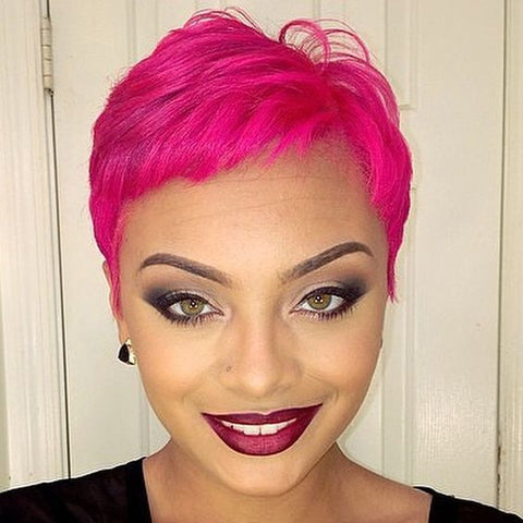 20 Pink Hairstyles to Try for Breast Cancer Awareness Month ...