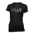 Pray Through the Process Shirts - Black Crew/Vneck