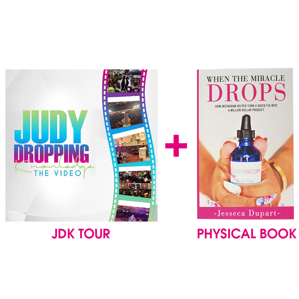 Judy Dropping Knowledge Bundle(Physical Book & Online Class)
