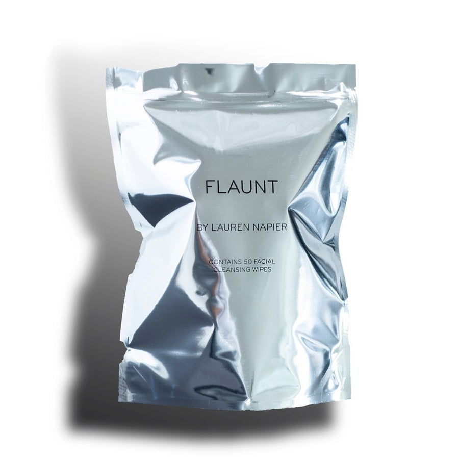 Flaunt Cleansing Face Wipes