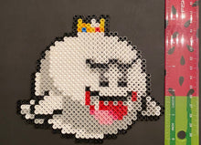 Load image into Gallery viewer, King Boo Inspired Beaded Sprites- Wall Hangings, Kids Bedroom, Game Bedroom and More