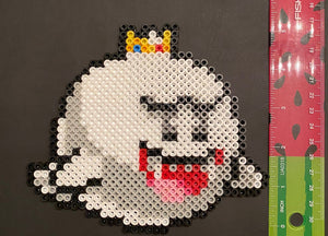 King Boo Inspired Beaded Sprites- Wall Hangings, Kids Bedroom, Game Bedroom and More
