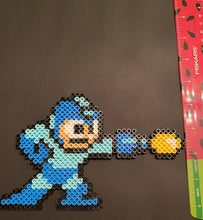 Load image into Gallery viewer, Mega Man & Rush Inspired Pixel Art- Wall Hangings, Kids Bedroom, Game Bedroom and More