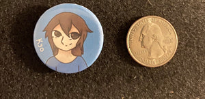 Zola Project Vocaloid inspired Digitally Designed Handmade Pins/Pinbacks, Kyo, Yuu, Wll