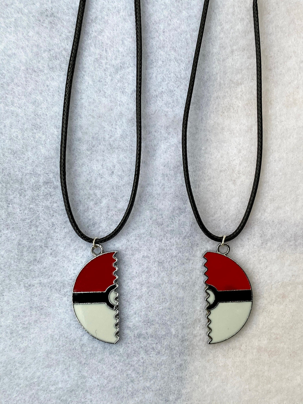 Best Friend Necklaces Pokemon Inspired Necklace Set