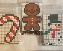Load image into Gallery viewer, DIY Perler Bead Christmas Ornament Craft Kits, Kids Craft