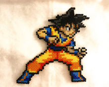 Load image into Gallery viewer, Anime Perler Inspired Sprites, Wall Hangings, Kids Bedroom, Gaming, 8-bit, Video Game, Game Decor,