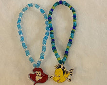Load image into Gallery viewer, Under the Sea Princess Enamel Charm Beaded Bracelets, Girls Gift, Kandi
