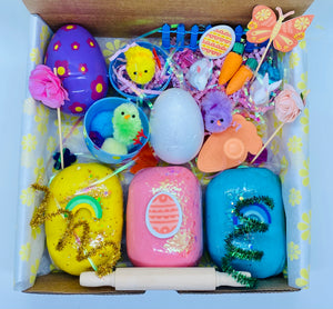 "Low Stock! Bunnies & Chicks"" Spring Full-sized Sensory Kit"