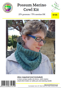 Creative Kit - Possum Merino Cowl Neck K105