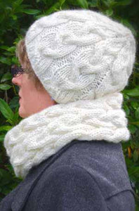 Plaited Cowl and Hat | Design P193