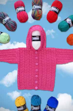 Baby Hooded Jacket | Design P195