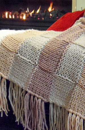 Cosy Lambswool Throw | Design P208