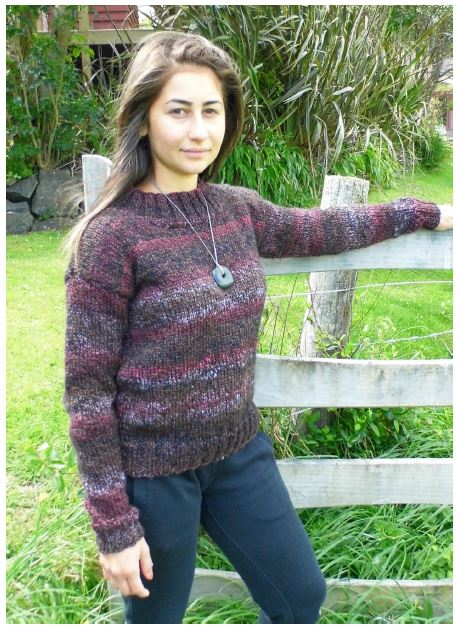 Ladies Pullover | Design P308
