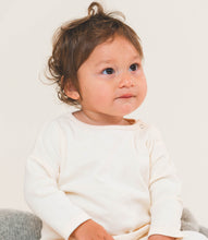 Load image into Gallery viewer, Martha & Marlo Kids Long Sleeve T-Shirt Organic Cotton Cream