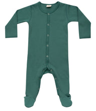 Load image into Gallery viewer, Martha & Marlo Baby One Piece Bodysuit Organic Cotton Green