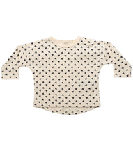 Load image into Gallery viewer, Martha & Marlo Baby Long Sleeve T-Shirt Organic Cotton Sketch Print Cream