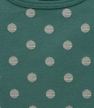 Load image into Gallery viewer, Martha & Marlo Kids Long Sleeve T-Shirt Organic Cotton Spot Print Green