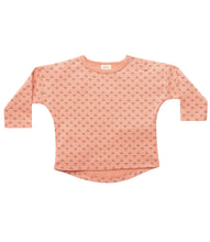 Load image into Gallery viewer, Martha & Marlo Baby Long Sleeve T-Shirt Organic Cotton Outline Print Pink